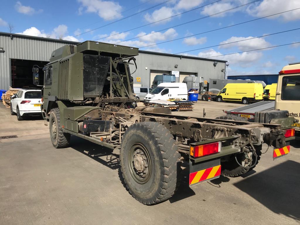 Rosie Man truck rear body removed
