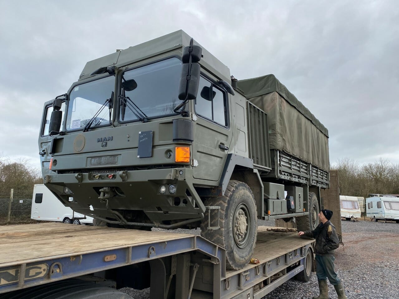Project Overland Rosie the Man Truck