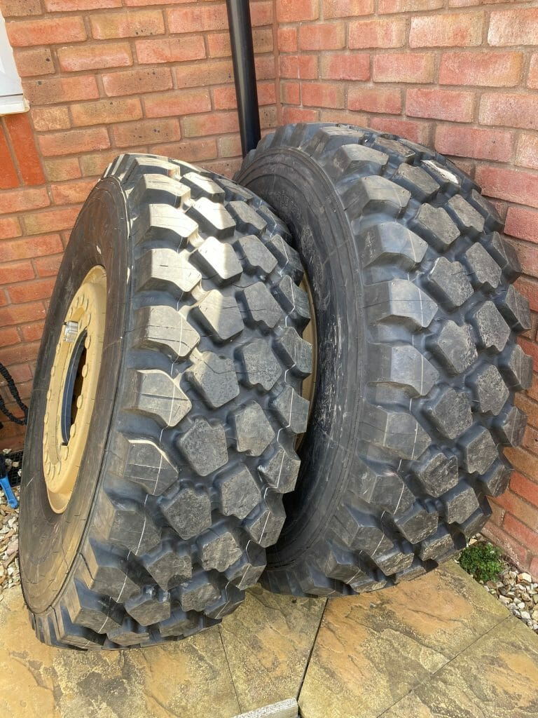 Project Overland Rosie Tyres