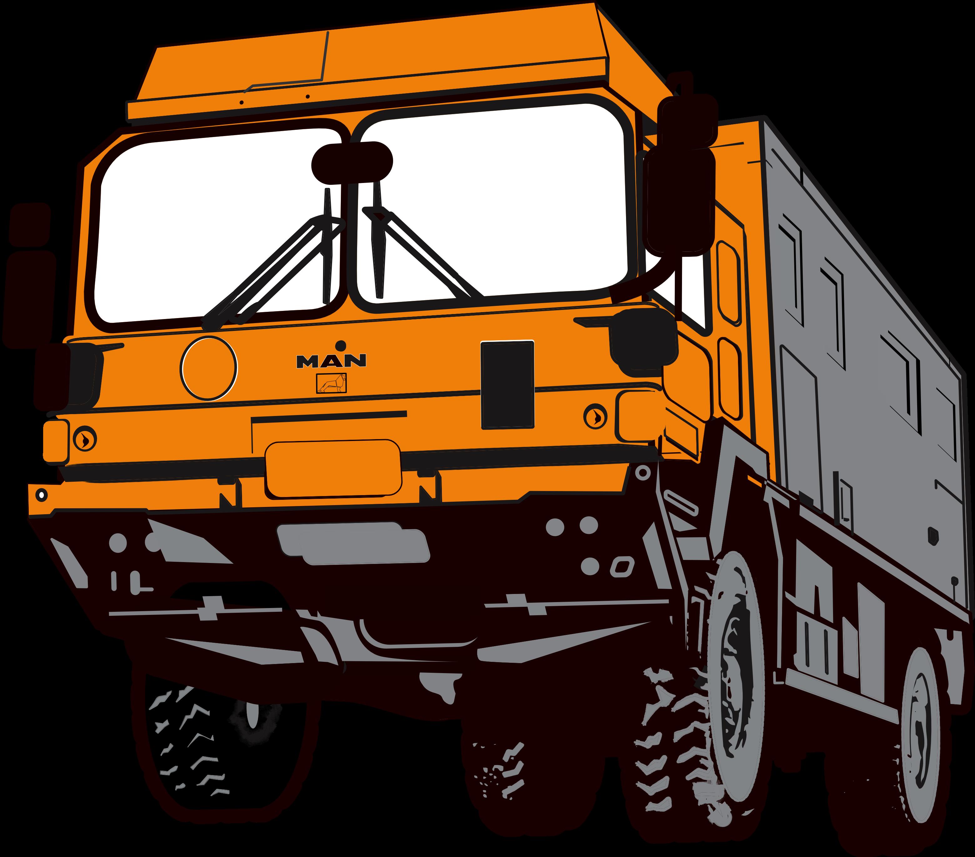 Project Overlander - Rosie MAN truck